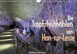 Die Tropfsteinhöhlen von Han-sur-Lesse (Wandkalender 2019 DIN A4 quer) von Haafke,  Udo