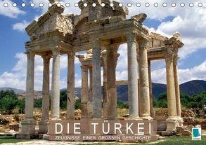 Die Türkei: Zeugnisse einer großen Geschichte (Tischkalender 2018 DIN A5 quer) von CALVENDO,  k.A.