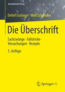 Die Überschrift von Esslinger,  Detlef, Schneider,  Wolf