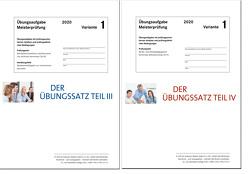 Die Übungssätze Teile III + IV – Variante 1 von Gress,  Bernhard, Semper,  Dr. Lothar