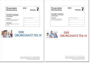 Die Übungssätze Teile III + IV – Variante 2 von Gress,  Bernhard, Semper,  Dr. Lothar