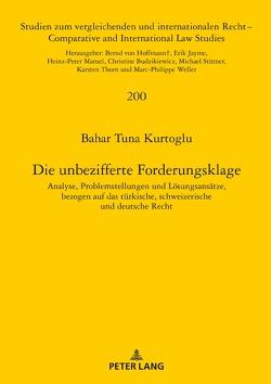 Die unbezifferte Forderungsklage von Kurtoglu,  Bahar Tuna