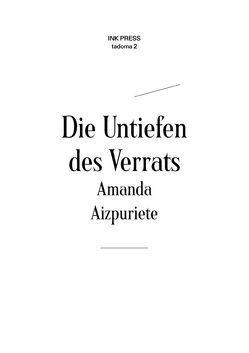 Die Untiefen des Verrats von Aizpuriete,  Amanda, Göritz,  Matthias, Gūtmane,  Margita, Hein,  Manfred Peter, Schröter,  Katarina