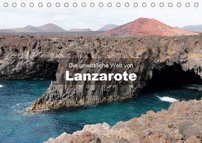 Die unwirkliche Welt von Lanzarote (Tischkalender 2020 DIN A5 quer) von Janzen,  Andreas