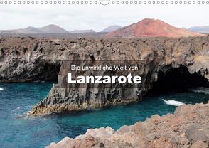 Die unwirkliche Welt von Lanzarote (Wandkalender 2021 DIN A3 quer) von Janzen,  Andreas