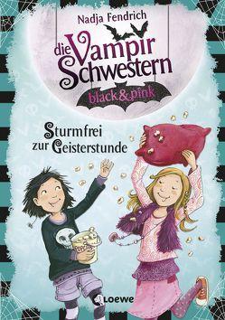 Die Vampirschwestern black & pink – Sturmfrei zur Geisterstunde von Fendrich,  Nadja, Henze,  Dagmar