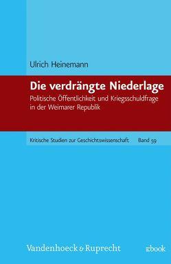 Die verdrängte Niederlage von Heinemann,  Ulrich