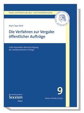 Die Verfahren zur Vergabe öffentlicher Aufträge von Topp-Blatt,  Birgit