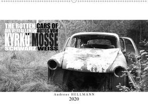 Die verfallenen Autos von Kyrkö Mosse (Wandkalender 2020 DIN A2 quer) von Hellmann,  Andreas