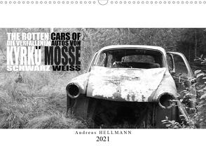 Die verfallenen Autos von Kyrkö Mosse (Wandkalender 2021 DIN A3 quer) von Hellmann,  Andreas