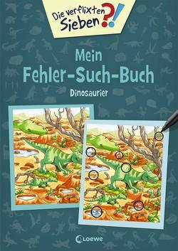 Die verflixten Sieben – Mein Fehler-Such-Buch – Dinosaurier von Rupp,  Dominik