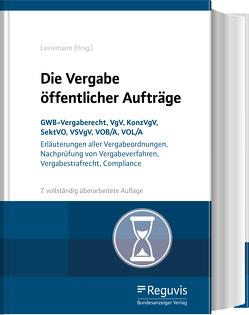 Die Vergabe öffentlicher Aufträge von Kirch,  Thomas, Leinemann,  Eva-Dorothee, Leinemann,  Ralf