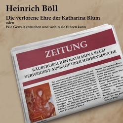 Die verlorene Ehre der Katharina Blum von Böll,  Heinrich, Seifert,  Jutta