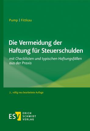 Die Vermeidung der Haftung für Steuerschulden von Fittkau,  Herbert, Pump,  Hermann