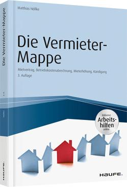 Die Vermieter-Mappe – inkl. Arbeitshilfen online von Nöllke,  Matthias