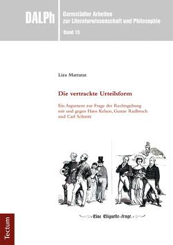 Die vertrackte Urteilsform von Gamm,  Gerhard, Luserke-Jaqui,  Matthias, Mattutat,  Liza