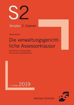 Die verwaltungsgerichtliche Assessorklausur von Wüstenbecker,  Horst