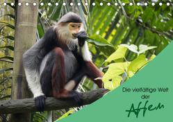 Die vielfältige Welt der Affen (Tischkalender 2019 DIN A5 quer) von Williger,  Christina