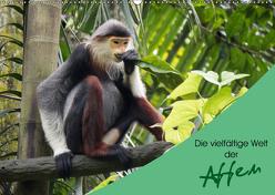 Die vielfältige Welt der Affen (Wandkalender 2019 DIN A2 quer) von Williger,  Christina