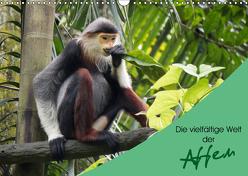 Die vielfältige Welt der Affen (Wandkalender 2019 DIN A3 quer) von Williger,  Christina
