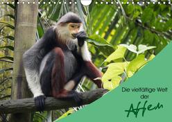 Die vielfältige Welt der Affen (Wandkalender 2019 DIN A4 quer) von Williger,  Christina