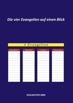 Die vier Evangelien auf einen Blick von Reimer,  Konstantin