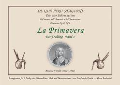 Die vier Jahreszeiten – La Primavera / Der Frühling – Band 1 von Ambrosini,  Marco, Rusche,  Eva-Maria