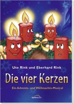Die vier Kerzen (Arbeitsheft) von Derksen,  Viktor, Rink,  Eberhard, Rink,  Friedemann, Rink,  Ute