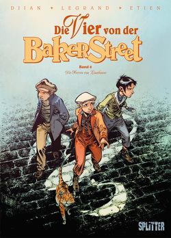Die Vier von der Baker Street. Band 8 von Djian,  Jean-Blaise, Etien,  David, Legrand,  Olivier