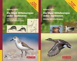 Die Vögel Mitteleuropas sicher bestimmen von Fiedler,  Wolfgang