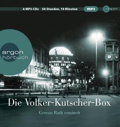 Die Volker-Kutscher-Box von Groth,  Sylvester, Kutscher,  Volker, Nathan,  David, Schöne,  Reiner