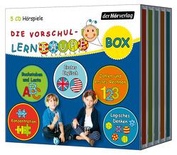 Die Vorschul-Lernraupen-Box von Bielfeldt,  Rainer, Hildebrand,  Kathrin, Kauffmann,  Jonna, Kauffmann,  Joschi, Kötting,  Dagmar, Riedinger,  Tom, Weyland,  Nils, Zorn,  Swantje