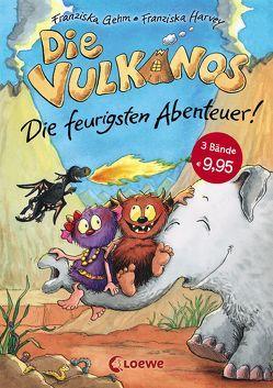 Die Vulkanos – Die feurigsten Abenteuer von Gehm,  Franziska, Harvey,  Franziska