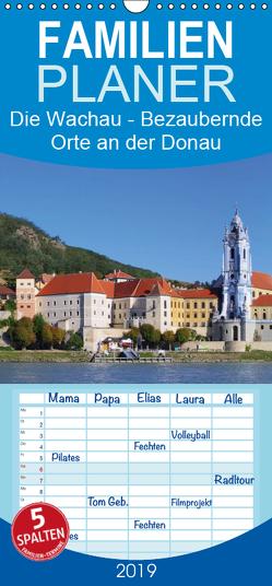 Die Wachau – Bezaubernde Orte an der Donau – Familienplaner hoch (Wandkalender 2019 , 21 cm x 45 cm, hoch) von LianeM