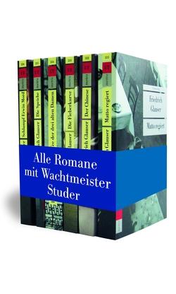 Die Wachtmeister-Studer-Romane von Glauser,  Friedrich