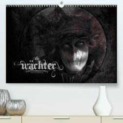 Die Wächter FRANKsREICH (Premium, hochwertiger DIN A2 Wandkalender 2021, Kunstdruck in Hochglanz) von Melech,  Frank