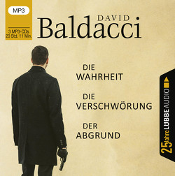 Die Wahrheit / Die Verschwörung / Der Abgrund von Baldacci,  David, Pigulla,  Franziska, Pleitgen,  Ulrich, Schoss,  Gunter