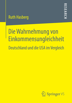 Die Wahrnehmung von Einkommensungleichheit von Hasberg,  Ruth