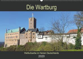 Die Wartburg – Weltkulturerbe im Herzen Deutschlands (Wandkalender 2020 DIN A2 quer) von Geyer,  Volker