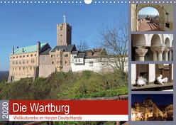 Die Wartburg – Weltkulturerbe im Herzen Deutschlands (Wandkalender 2020 DIN A3 quer) von Geyer,  Volker