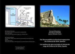 Die Wassermühlen im Bewässerungssystem des Palmeral de Elche, Spanien von Pastor,  Ignacio Meléndez, Pedreno,  Jose Navarro, Wittenberg,  Hartmut