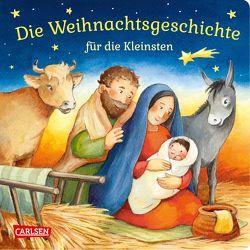 Die Weihnachtsgeschichte für die Kleinsten von Hofmann,  Julia, Wissmann,  Maria
