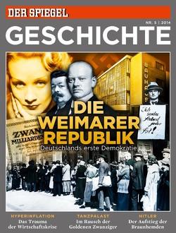 Die Weimarer Republik von Rudolf Augstein (1923–2002), SPIEGEL-Verlag Rudolf Augstein GmbH & Co. KG