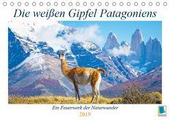 Die weißen Gipfel Patagoniens (Tischkalender 2019 DIN A5 quer) von CALVENDO
