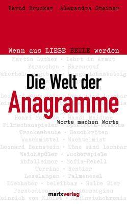 Die Welt der Anagramme von Brucker,  Bernd, Steiner,  Alexandra