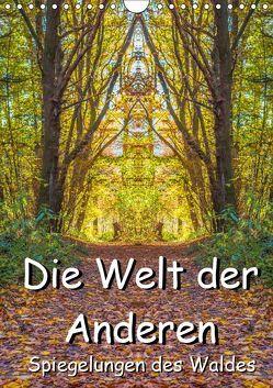 Die Welt der Anderen – Spiegelungen des Waldes (Wandkalender 2019 DIN A4 hoch) von Döring,  Jürgen