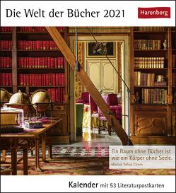 Die Welt der Bücher Kalender 2021 von Harenberg