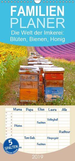 Die Welt der Imkerei: Blüten, Bienen, Honig – Familienplaner hoch (Wandkalender 2019 , 21 cm x 45 cm, hoch) von CALVENDO
