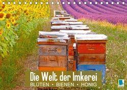 Die Welt der Imkerei: Blüten, Bienen, Honig (Tischkalender 2018 DIN A5 quer) von CALVENDO,  k.A.