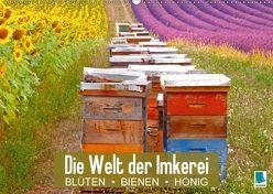 Die Welt der Imkerei: Blüten, Bienen, Honig (Wandkalender 2018 DIN A2 quer) von CALVENDO,  k.A.